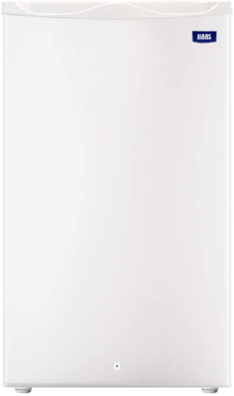 Picture of HAAS Mini Bar Refrigerator, 3.2 Cu.ft, Mixed Materials, White - HRK105W