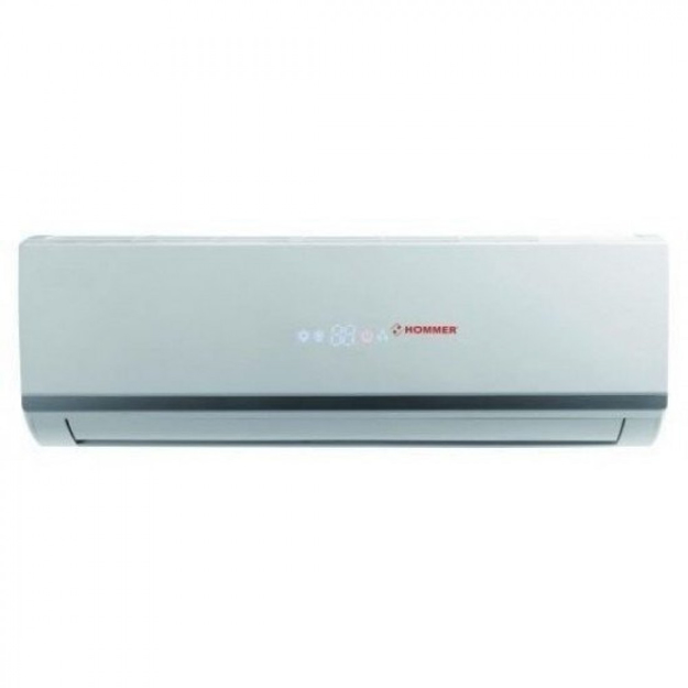 Picture of Hommer split air conditioner 1.5 ton hot and cold made in China as a Gree Rotary compressor HSL18RHN0-SA