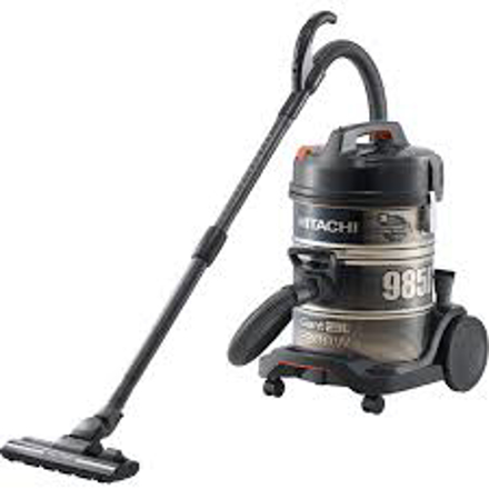 صورة Hitachi Drum Vacuum Cleaner, 2200 Watt, Black - CV985DC