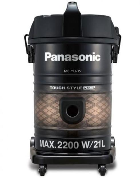 صورة Panasonic Vacuum Cleaner/Drum/21Ltr/2200W/Gold-Black - (MCYL635T747)