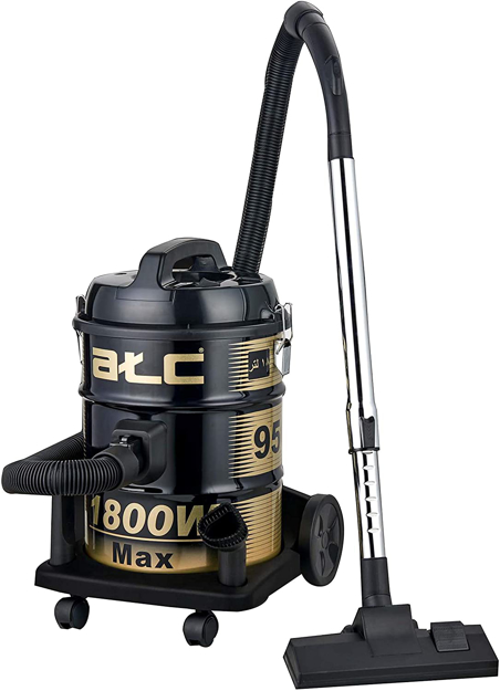 Picture of ATC Vaccum Cleaner 18 Liter, 1800 Watts - H-Vc950, Black