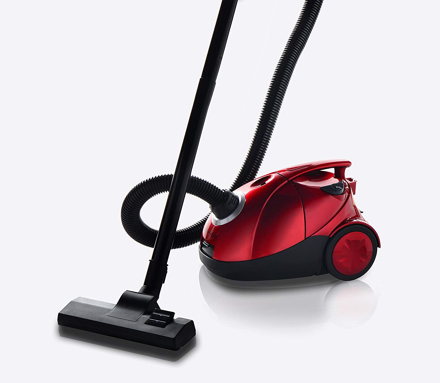 Picture of Al Saif AL8445 Electric Vacuum Cleaner 2 Liter 1400 Watts Multicolor