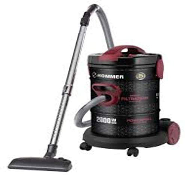 Picture of Hommer HSA211-11 Drum Vacuum Cleaner 25L 2000W, easy to clean multi-tasking vacuum cleaner
