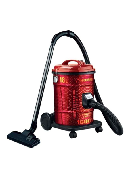 صورة Vaccum Cleaner 18L HSA211-07 Red/Black