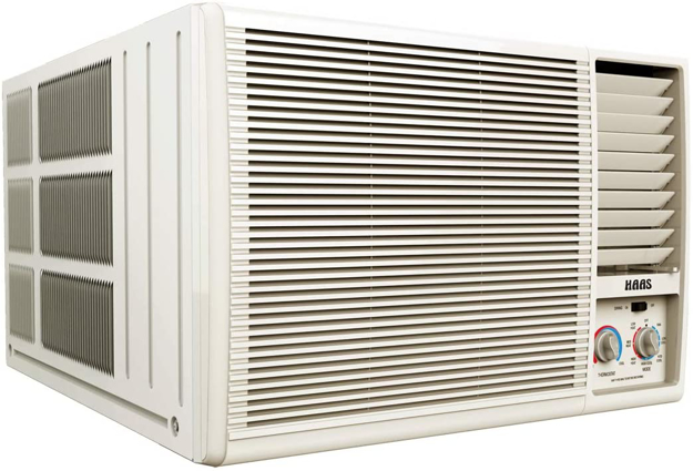 صورة HAAS Window AC, 17,000Btu,Hot&Cool,Anti-Bacteria Filter - HWA118Y8H