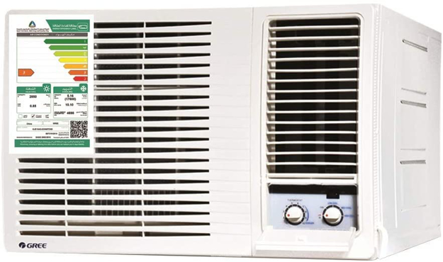 صورة Gree Window System Air Conditioner , Hot and Cold , GJC18AGD3NMTD5F