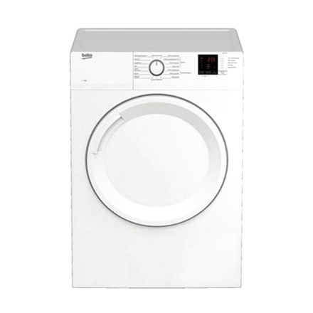 Picture of Beko Dryer 7kg, Front Load, Air Vented, Sensor Dry,15 Program,White - BDV7200