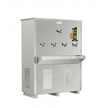Picture of Al Kawther Water Dispenser 5 Buzzer 240 Liter - Body Steel