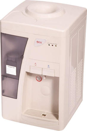 Picture of Basic TabLitere 10 Liter Hot and CoLiterd Water Dispenser, White - Bwd-Tyr3