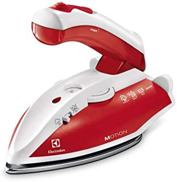 Picture of Electrolux Travel Iron With Steam 800W, Red - Ek-Edbt800Ar