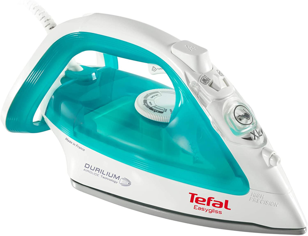 Picture of Tefal Steam Iron Easygliss. 2400W.Light Green and White