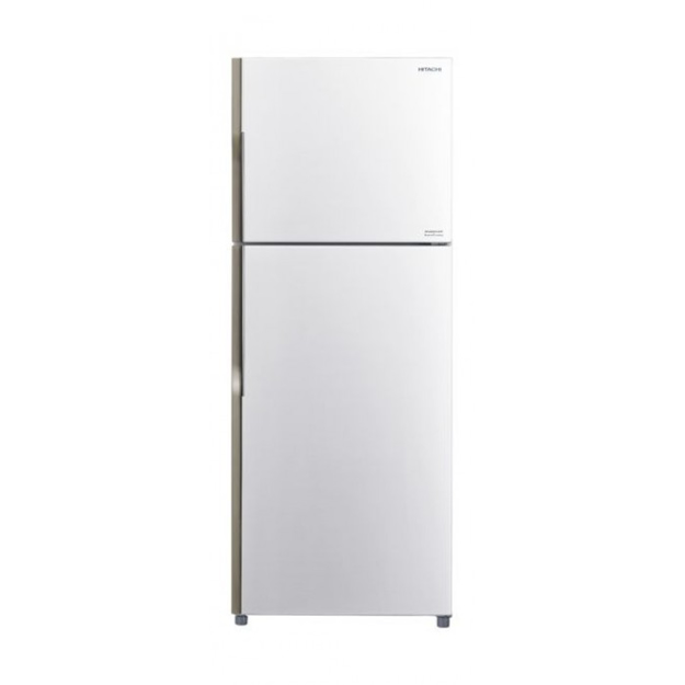 Picture of Hitachi Two door refrigerator in black color R-V440PS8KPWH