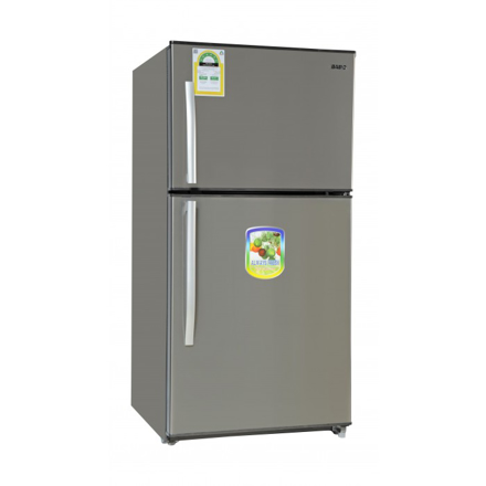 Picture of Basic 21.01 Cft Top Mount Refrigerator (BRD-774) Stainless Steel