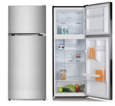 Picture of Crony refrigerator, two doors, 11 feet - steel