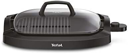 Picture of TEFAL Electric Smokeless Plancha Grill, Black, CB6A0827, 1piece