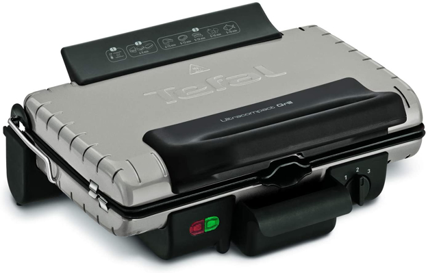 Picture of Tefal Ultracompact Barbecue Grill 600, Silver - Gc302b28