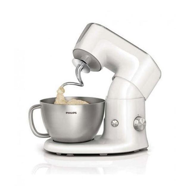 Picture of Philips Stand Mixer 900 Watt 4 liter, Steel - HR7950 / 01