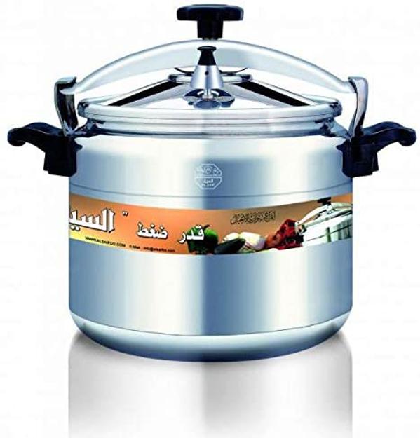 Picture of al Saif aluminium Manual Pressure Cookers, 45 liter - 9000/45L