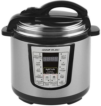 Picture of Al Saif Electric Pressure Cooker 12 Liter, 1600 Watts Multicolor, E04104