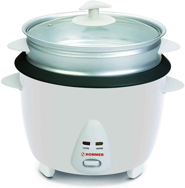 صورة هومر طباخ ارز 700 وات 2.8 لتر