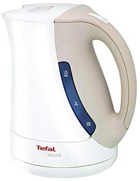 Picture of Tefal Kettle Justine BF563043 White and grey 1.7L 2400W Power
