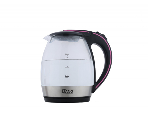 Picture of Glass Kettle 1.7 Liters JN1854 Al Saif Brand (JANO)